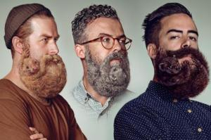barba forma animales hipster