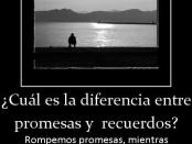 recuerdos y promesas