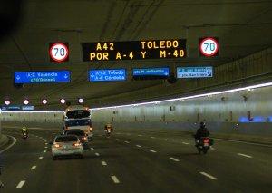túnel m30 madrid