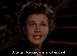 ya lo pensaré mañana