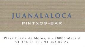 Juana la Loca tarjeta