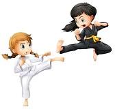niña judoka