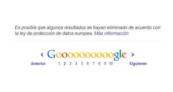 aviso derecho al olvido google