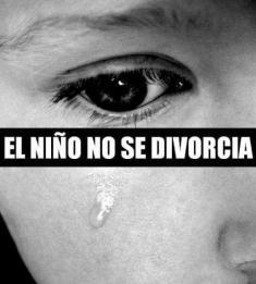 el niño no se divorcia