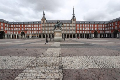 plaza mayor coronavirus
